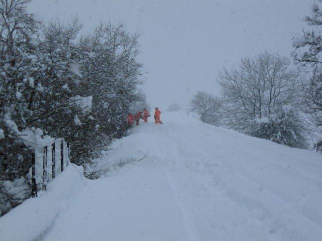 Snow covered railway (4)