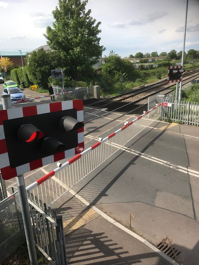 Catch a glimpse of life on railway and find out how busy level crossing works: Alstone LX