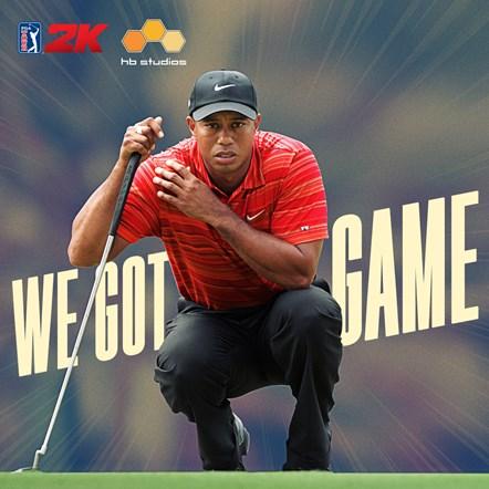 PGA TOUR 2K Tiger Woods Square