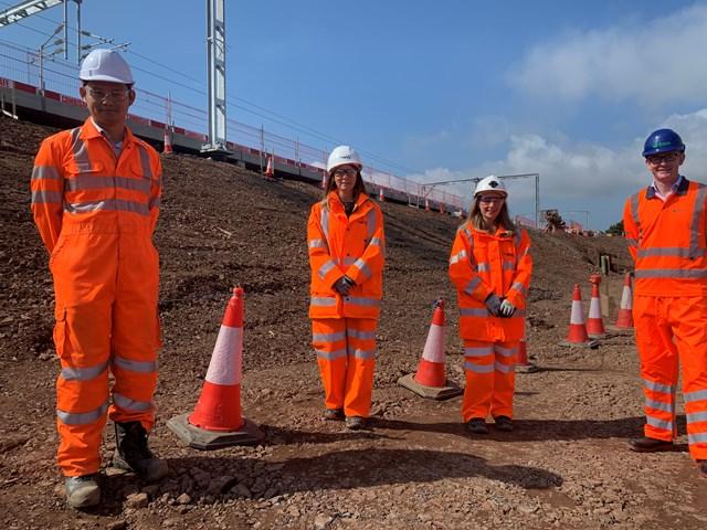 John Lamont MP visits Reston station site: John Lamont meets the Reston Project Team