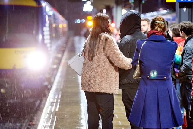 Anglia rail passengers reminded to look out for their friends' safety this Christmas: Chistmas Intoxication Campaign BeAFirstClassMate