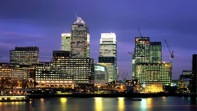 Cvent Unveils 2018 List of Top 25 Meeting Destinations in Europe: 44874-640x360-canarywharf_skyline_at_night_hero.jpg