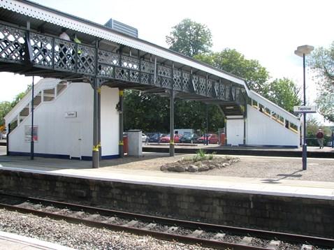 Refurbished Taplow Footbridge
