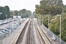 Platforms at Sunningdale station are being extended to accommodate longer trains, as part of the £800 million Waterloo & South West Upgrade (2)