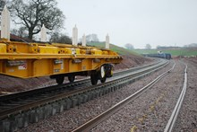 Track laying at Norton Bridge