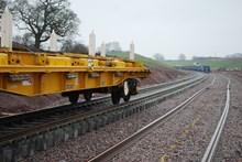 Track laying at Norton Bridge