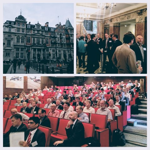 Digital Railway's Early Contractor Involvement event at Institute of Mechanical Engineers headquarters in Westminster, London