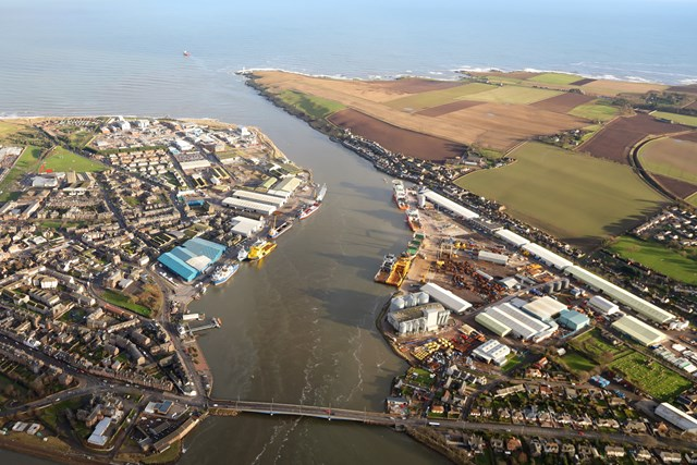 Port of Montrose grant to cut thousands of lorry journeys: Port of Montrose