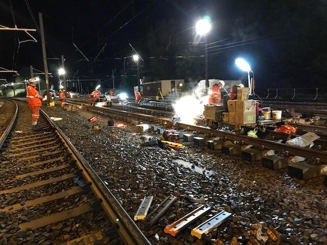 Euxton junction renewal