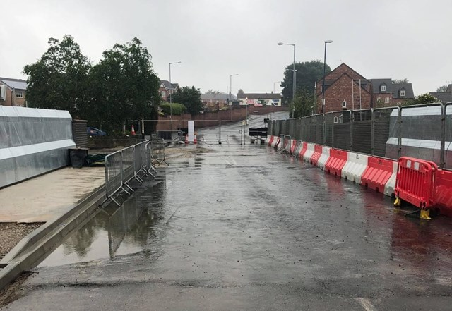 Network Rail announces reopening date of railway bridge in Barnsley for motorists after vital upgrade work: Network Rail announces reopening date of railway bridge in Barnsley for motorists after vital upgrade work