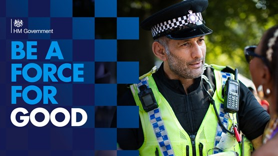 Launch of recruitment campaign for 20,000 officers is generational opportunity for policing: HO 11222901 HomeOffice Policing Twitter 1920x1080 Good 002