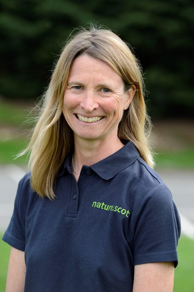 Francesca Osowska chief executive Scottish Natural Heritage - high resolution: Francesca Osowska, chief executive of Scottish Natural Heritage