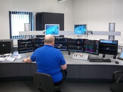 Signalling panel computerised with ERTMS