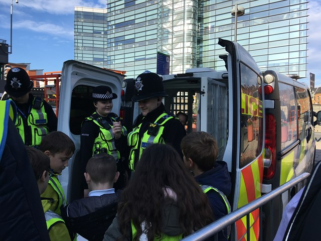 Leeds station safety week BTP-2