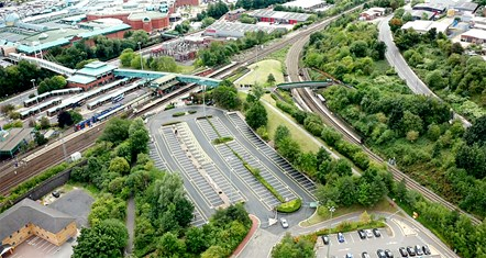 Meadowhall Interchange car park