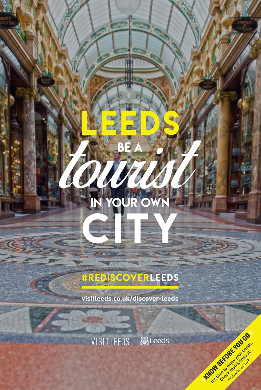 Rediscover Leeds launched in bid to help city's key industries recover: REDISCOVER LEEDS ARTWORK - POP ART 01