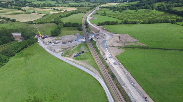 Network Rail showcases £7.5m Mid Wales scheme to improve safety as part of Railway Upgrade Plan: Talerddig