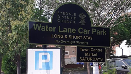 Ryedale District Council offers car parking permit extension: Water Lane car park