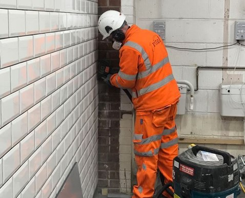 Network Rail replacing the Liverpool Lime Street loos