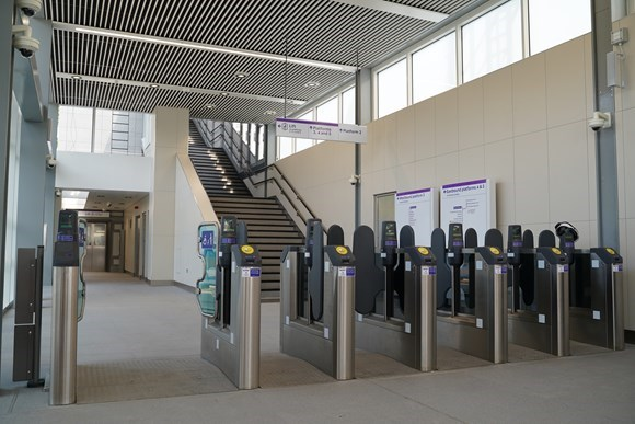 West Drayton station transformed as extended ticket hall opens and step-free access introduced for first time: West Drayton ticket gates