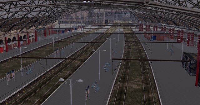 Virtual reality technology helping Network Rail redevelop Liverpool Lime Street: Liverpool Lime Street VR - aerial view future