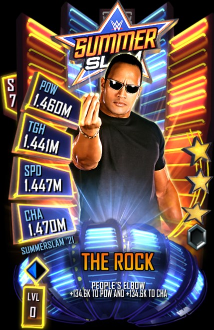 WWESC S7 SummerSlam 2021 The Rock