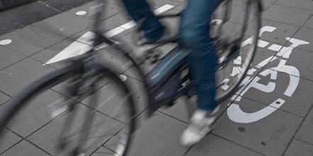 Bike riding passed