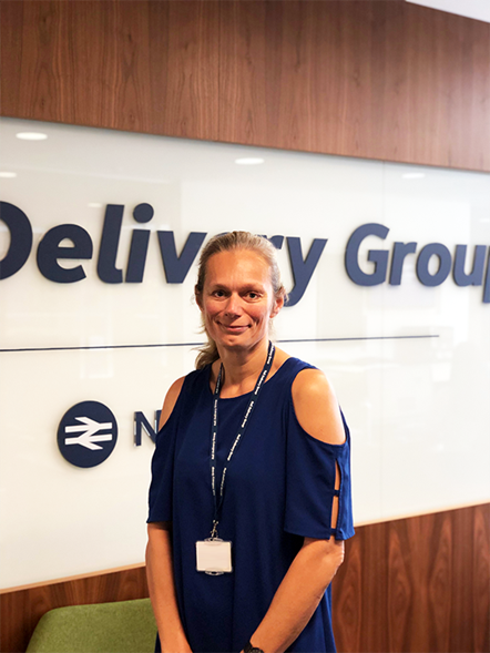 Rail Delivery Group's new Planning, Engineering & Operations Director returns to Britain's railway: Susie Homan August 2019