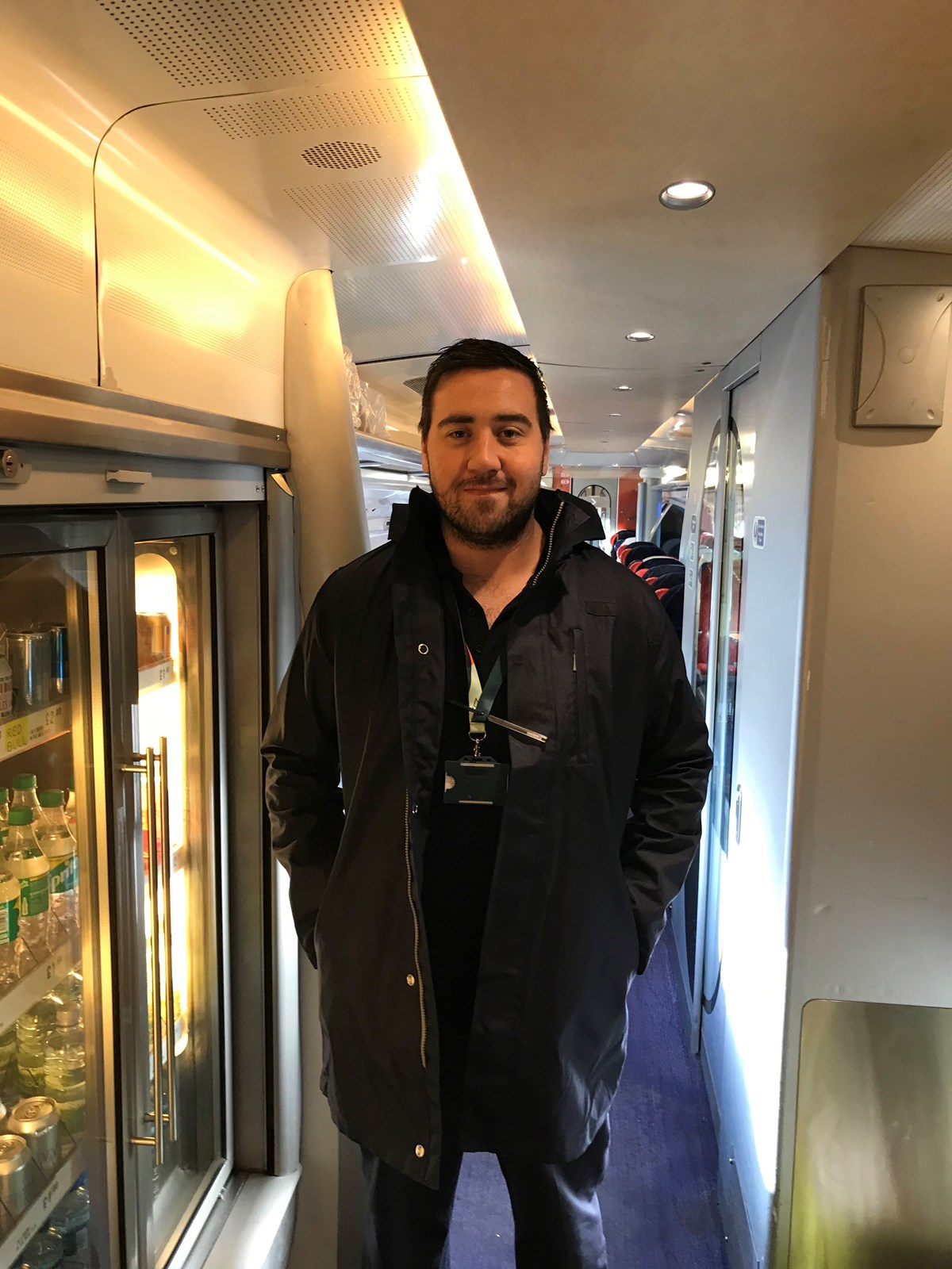 CJ (Avanti West Coast Train Manager)