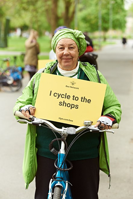 TfGM - I cycle to the shops