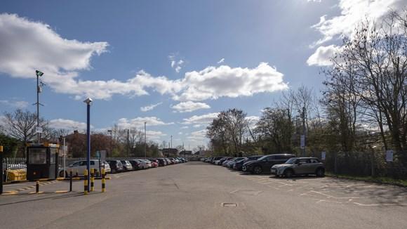 TfL Image - Canons Park Station car park