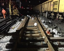 Important sections of track at Waterloo were replaced during the weekend of 4-5 March (3)
