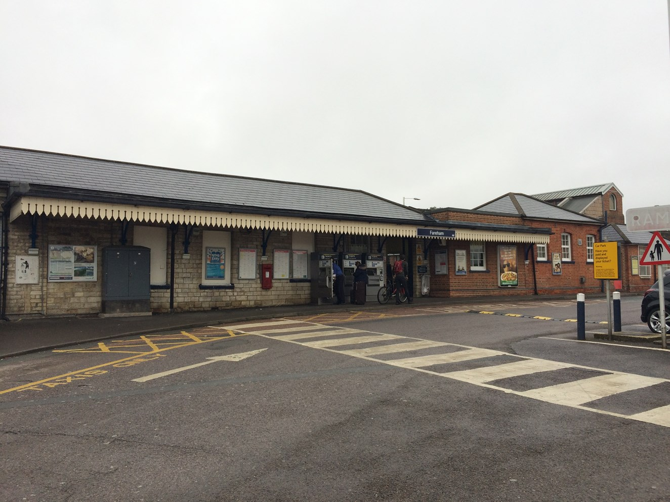 Hampshire rail passengers reminded about upcoming temporary changes: Fareham station