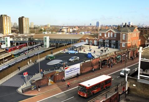 Clapham Junction - Brighton Yard Entrance CGI