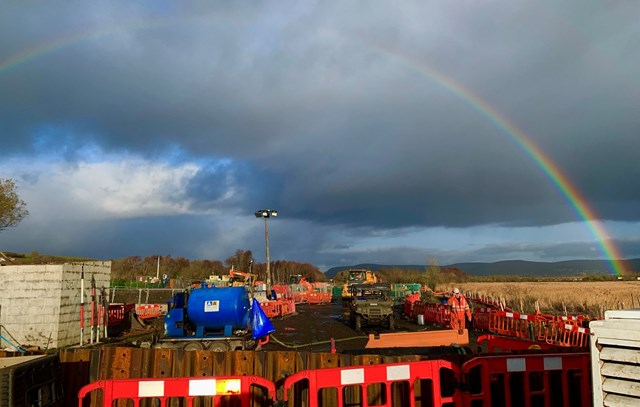 Work to remove diesel affected soils from the Llangennech fuel spill site has begun: llangennech2