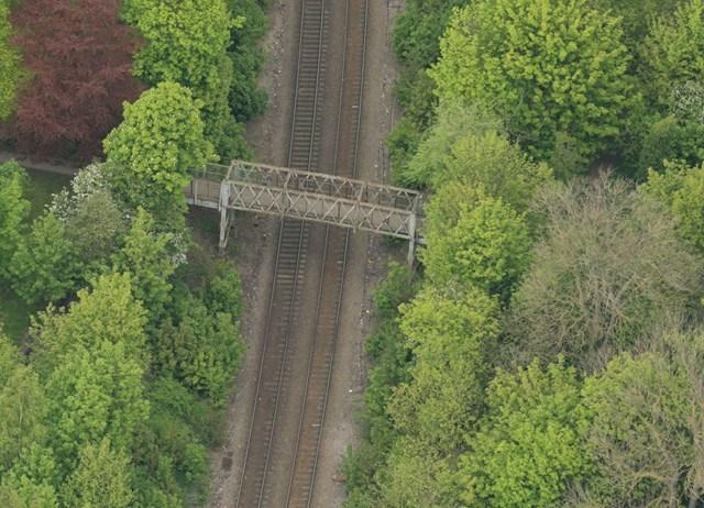Network Rail begins vital improvements to Selby footbridge: Byram footbridge, Selby