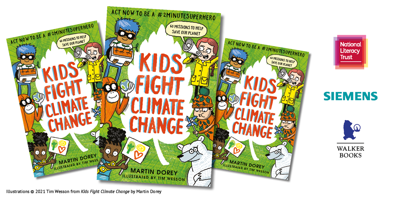 This Earth Day, Siemens and National Literacy Trust get kids talking about climate and how to care for the environment: NLT Siemens Earth Day2