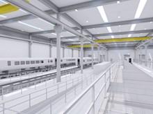 Siemens plans new rail factory in Goole Interior artist impression 2