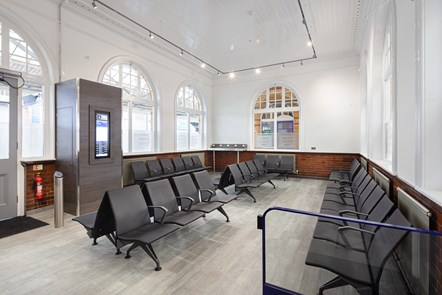Bolton Station Work - Waiting Room 1