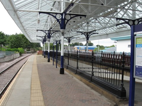 Subway railings (after)