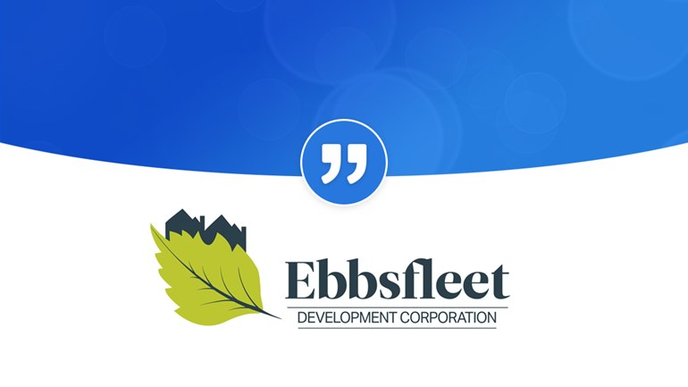 "Ebbsfleet ""PRgloo is absolutely vital"": EbbsfleetQuote"