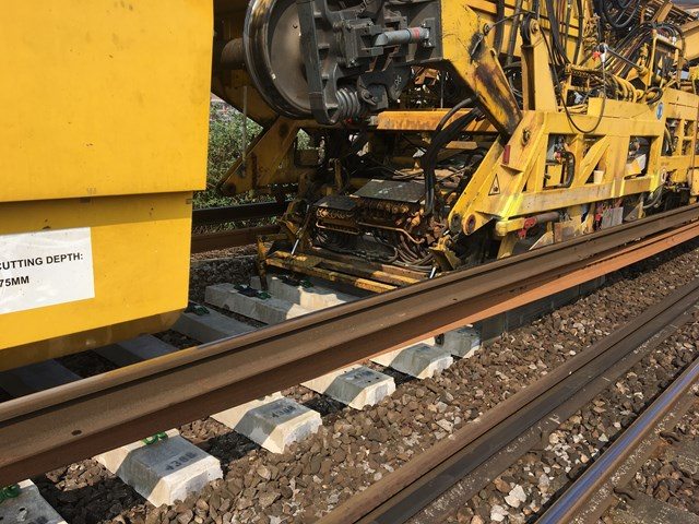 Track works planned to reduce rail delays between London and Cambridge: Track renewal TRS