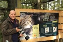 Barrie Williams, volunteer at Scottish Wildcat Action: Photo credit Graham Richardson/Scottish Wildcat Action