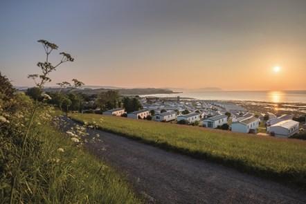 Park view at Doniford Bay