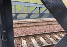 3 Nov Completed section track side