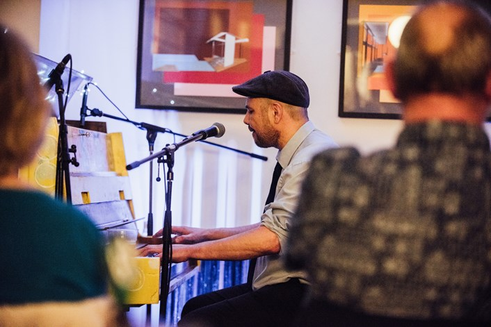 Leeds Pub Piano Competition: Image taken at the 2018 Leeds Pub Piano Competition. Credit Joanna Ritchie.
