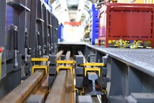 The MMT provides everything needed to replace track quickly and safely