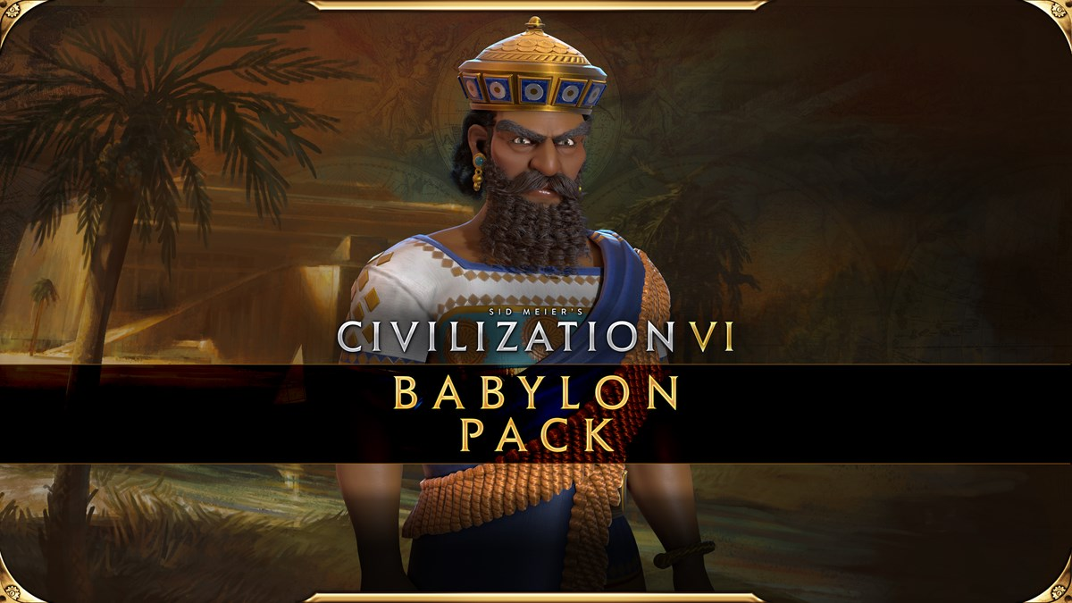 Civilization VI - New Frontier Pass - Babylon Pack Key Art