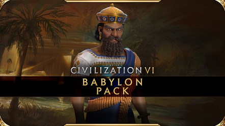 Civilization VI - New Frontier Pass - Babylon Pack Key Art