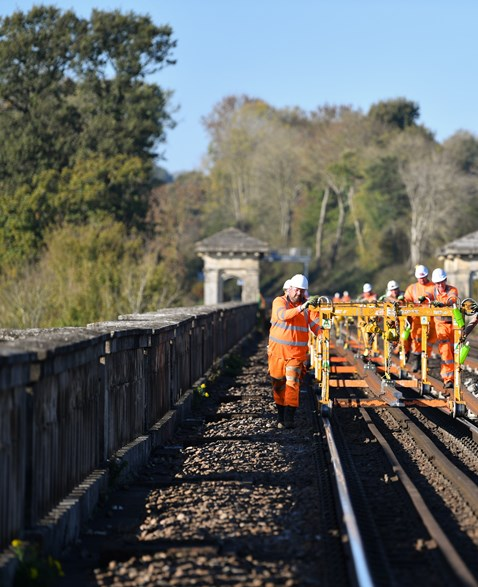 Brighton Mainline Upgrade Ouse Valley Oct 10  (53)